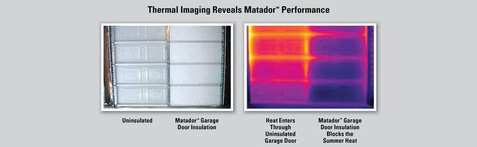 Matador S Gdik001 Garage Door Insulation Kit Designed For