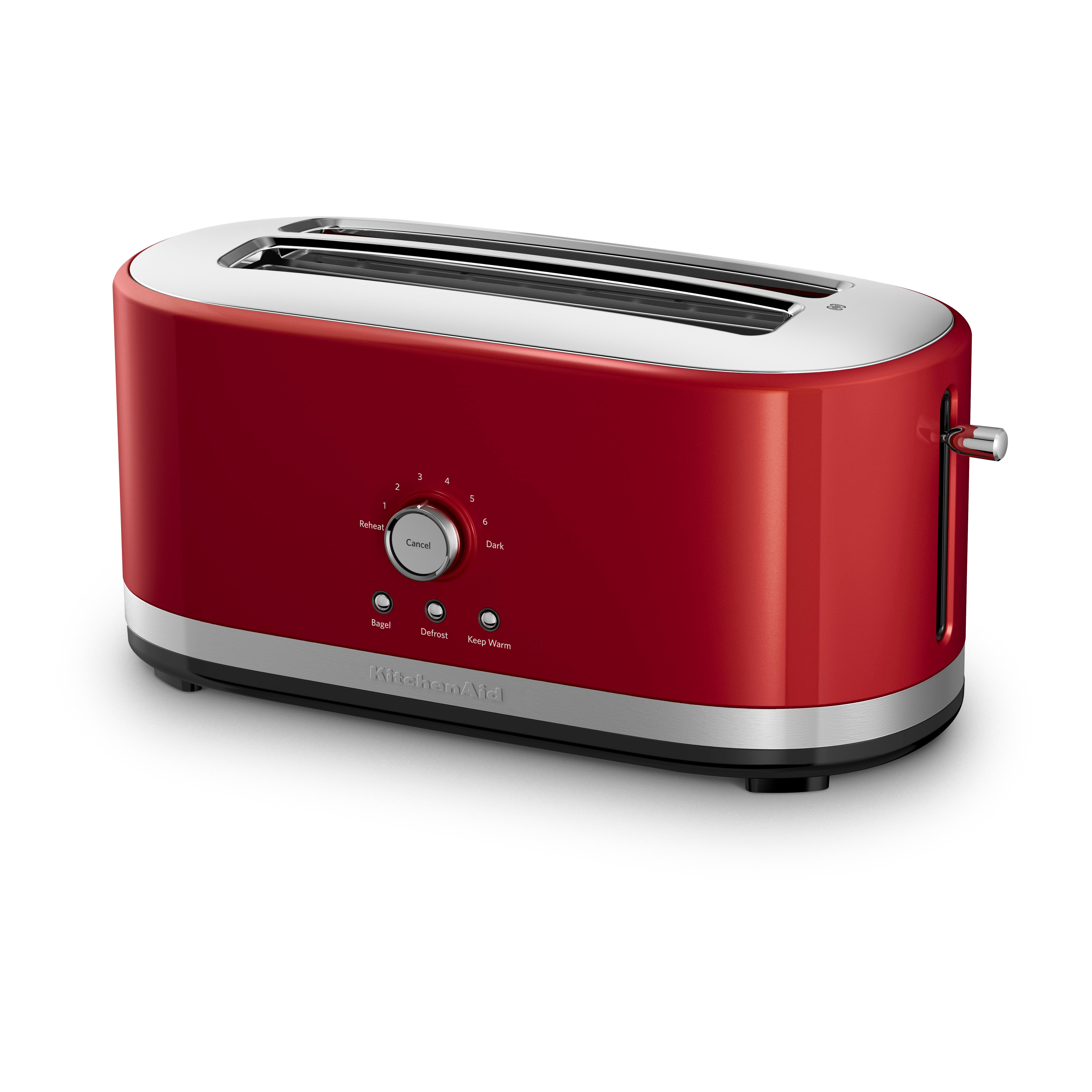 whirlpool canada kitchenaid 2 slice toaster with high lift lever