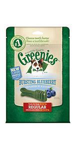 GREENIES Bursting Blueberry Dental Chews for Dogs