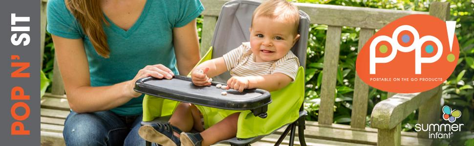 Summer Infant Pop N Sit Portable High Chair Amazon Ca Baby