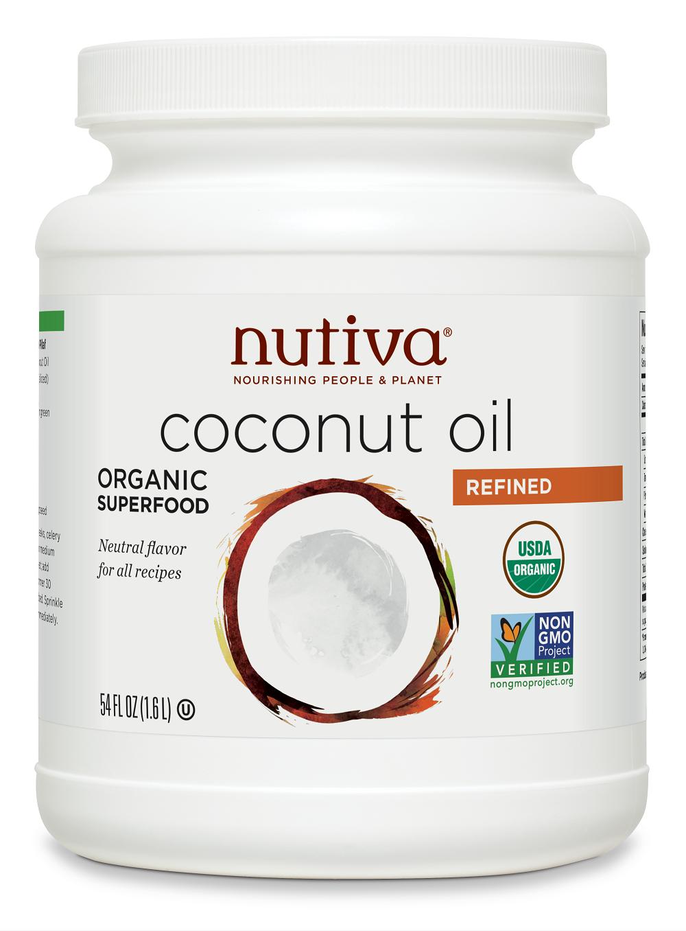 No taste coconut oil