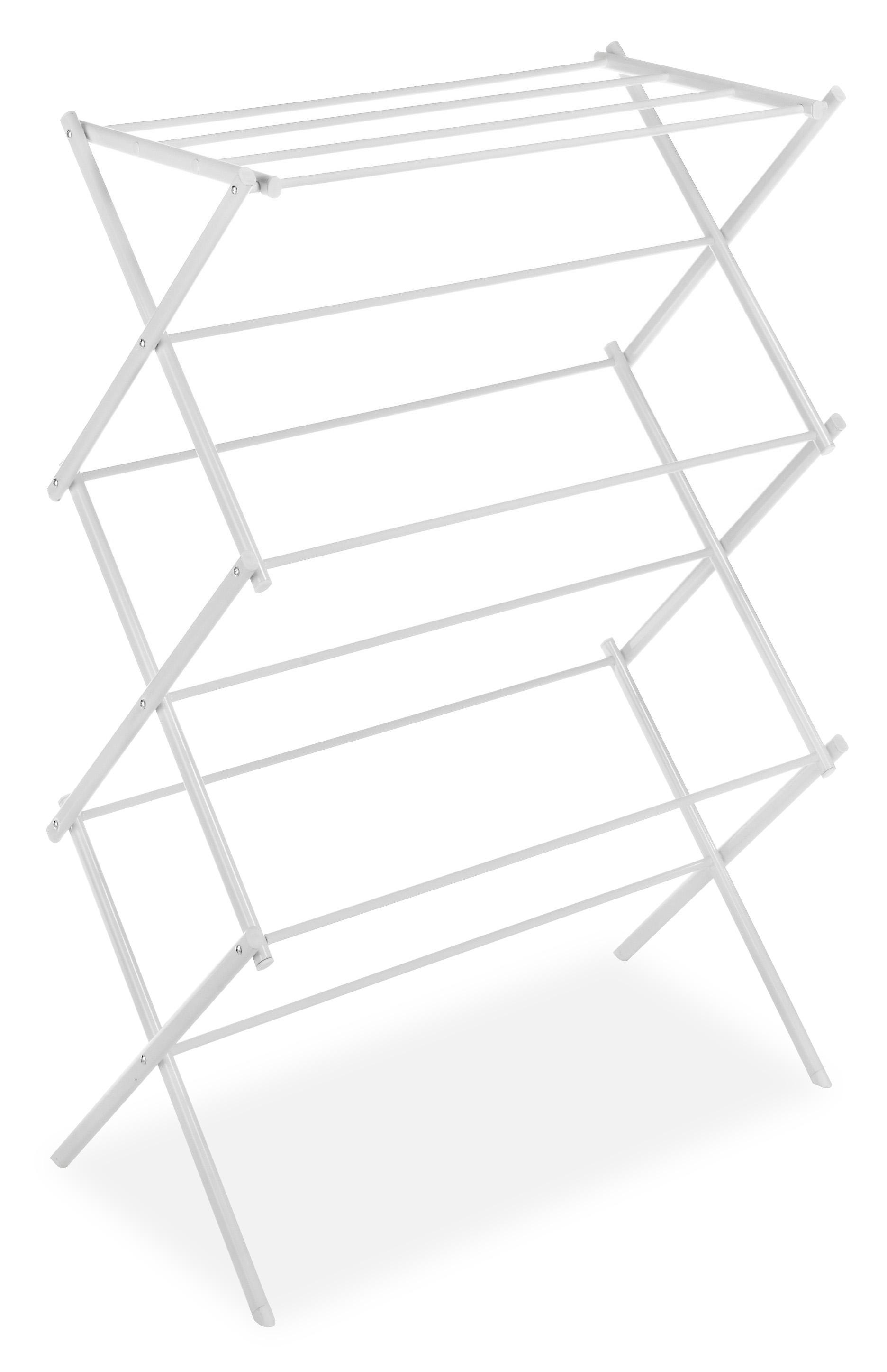 Whitmor 6023 741 Folding Clothes Drying Rack White