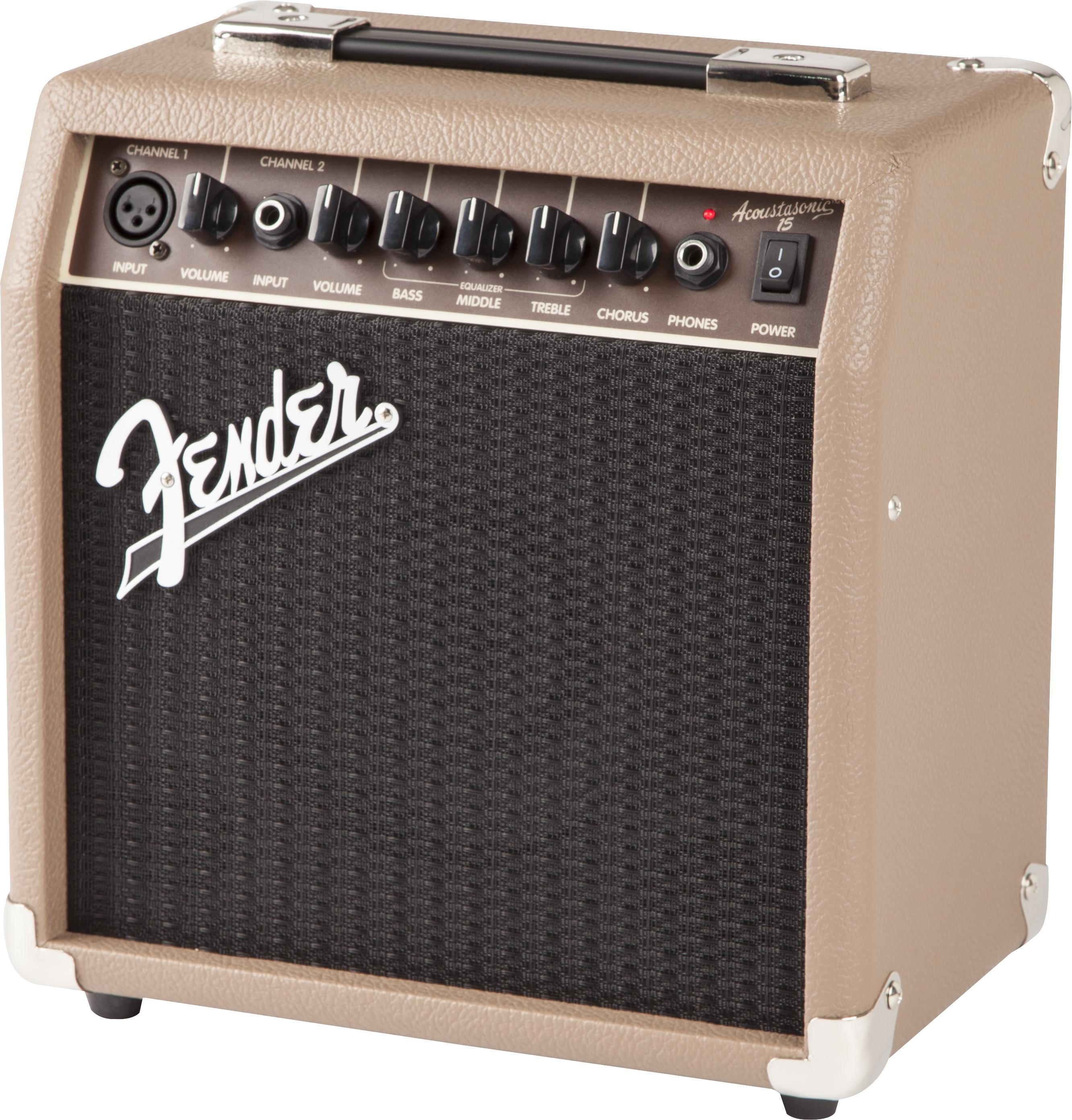 Fender Acoustasonic Series 2313700000 Acoustasonic 15