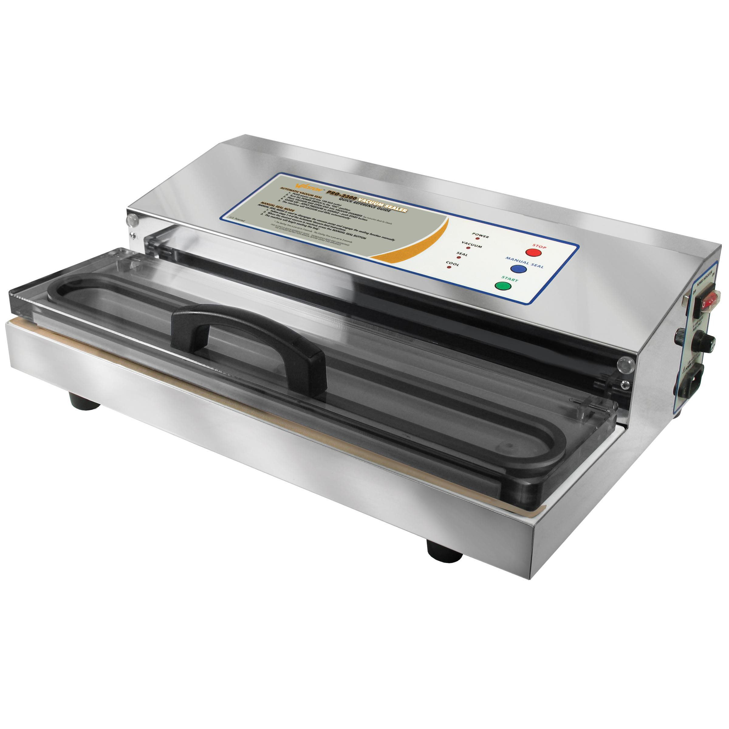 Weston 65 0201 Pro 2300 Vacuum Sealer Silver Amazon Ca