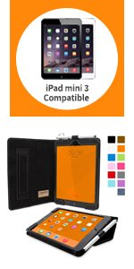 apple ipad mini 3 smart case leather