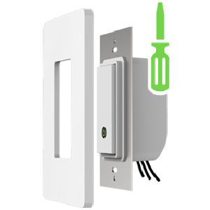 Wemo light switch wi fi enabled compatible with amazon for Wemo light switch