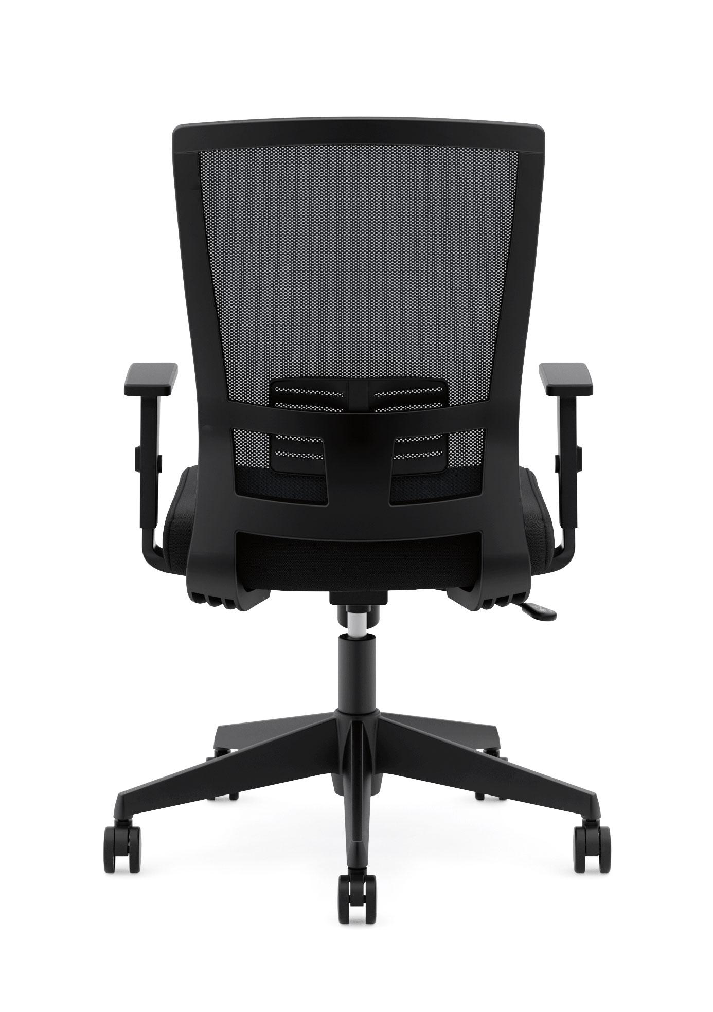 Basyx By Hon Mesh Task Chair High Back Work Chair With