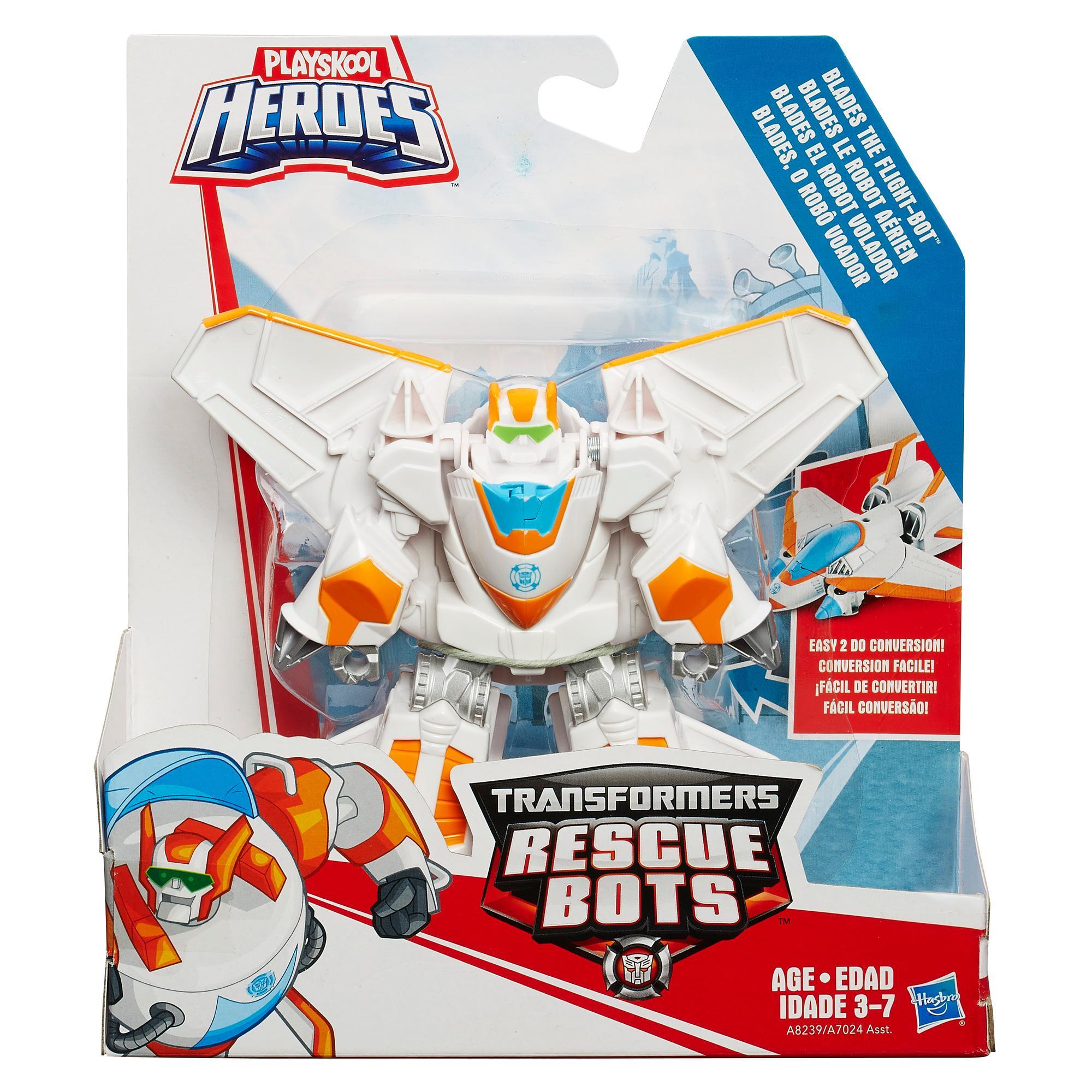 Playskool heroes transformers rescue bots blades the
