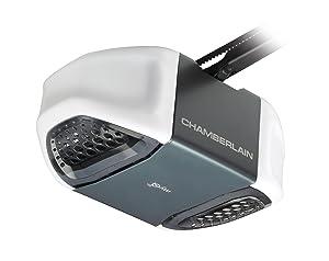 chamberlain whisper drive garage door openerChamberlain WD832KEVC Garage Door Opener  HP UltraQuiet Belt