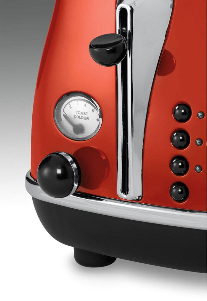 DeLonghi CTO2003R Icona Collection 2 Slice Toaster, Red: Amazon.ca ...