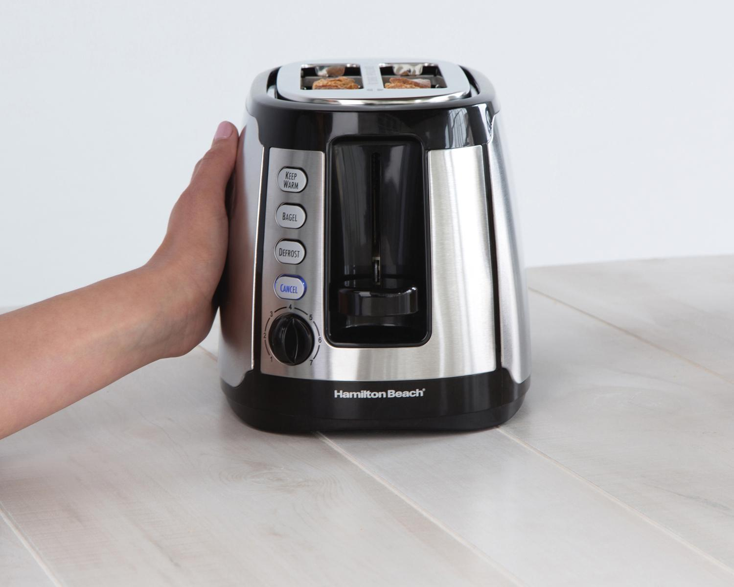 Hamilton Beach 2 Slice Toaster with Warm Mode: Amazon.ca: Home ...