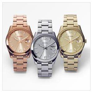 us watch sku automatic original main leather gray boyfriend aemresponsive fossil watches pdpzoom en products