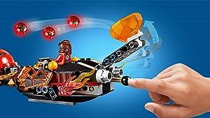 LEGO nexo knights, construction, beast master's chaos chariot