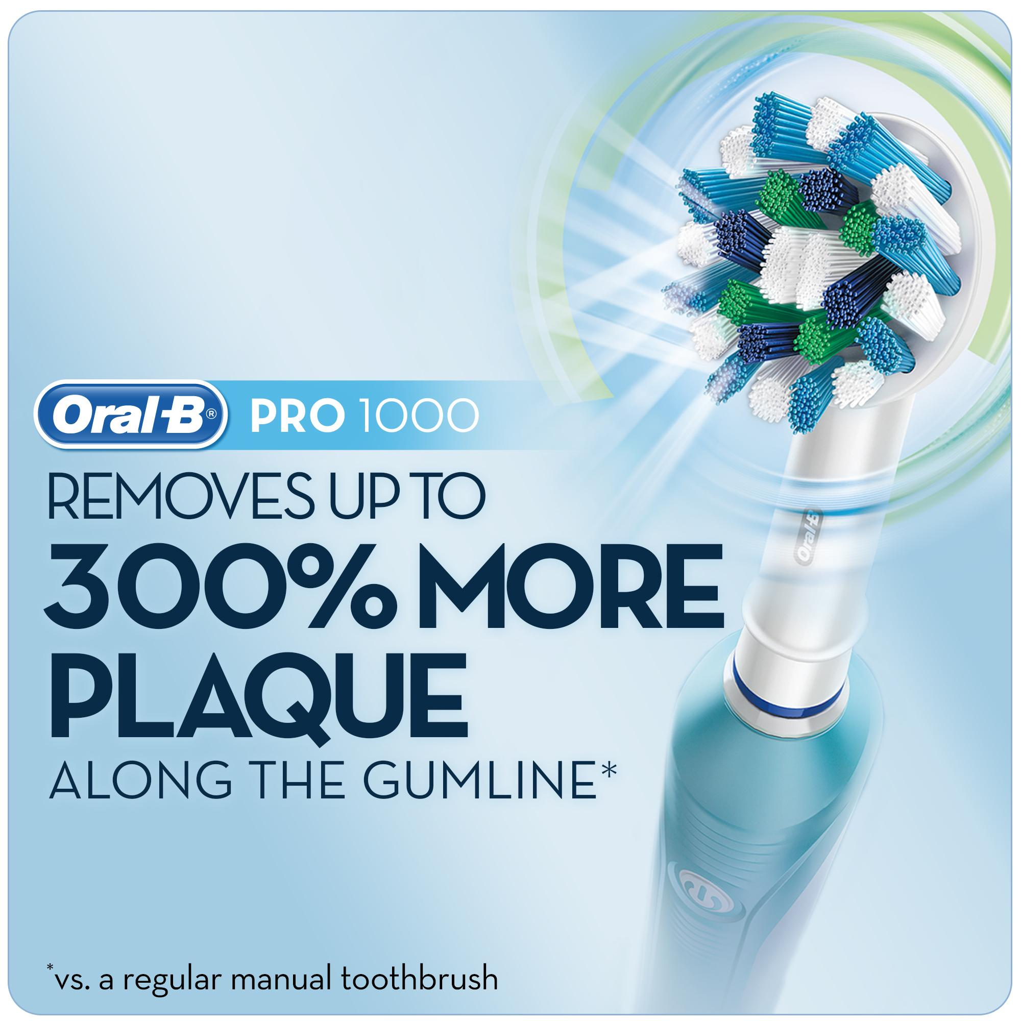 Oral B Pro 1000 Power Rechargeable Electric Toothbrush