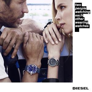 1.32 Diesel Men's Mr Daddy 2.0 Gunmetal Watch