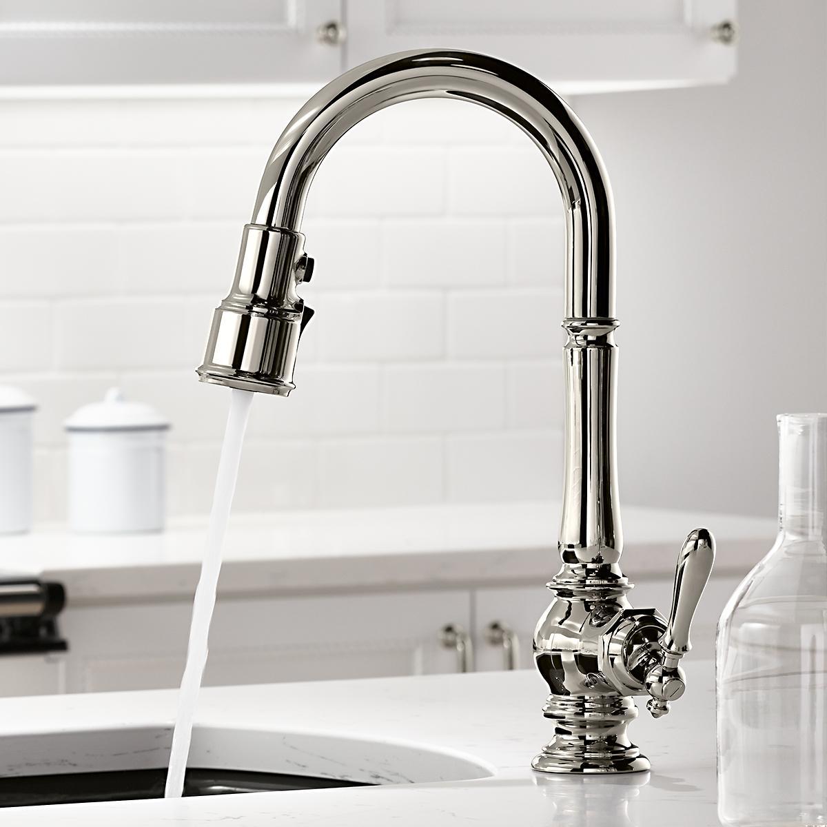 Home Plus Cp  Handle Kitchen Faucet Chrome