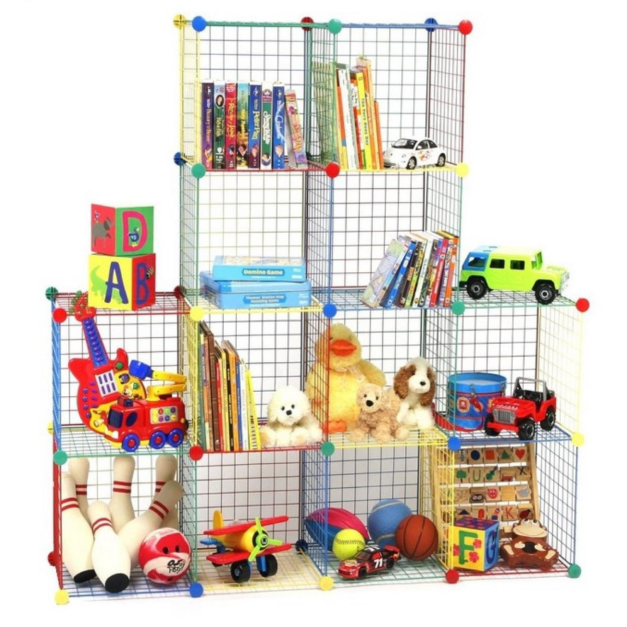 Nice Storage Cubes,wire Cubes,storage Grids,stack,stackable Crates,closetmaid,