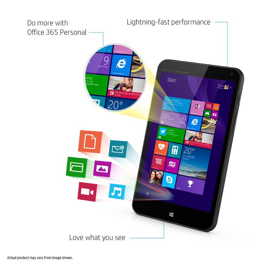 HP Stream 7 Microsoft Signature Edition 32GB Windows 8 1 Tablet (Includes  Office 365 Personal for One Year)
