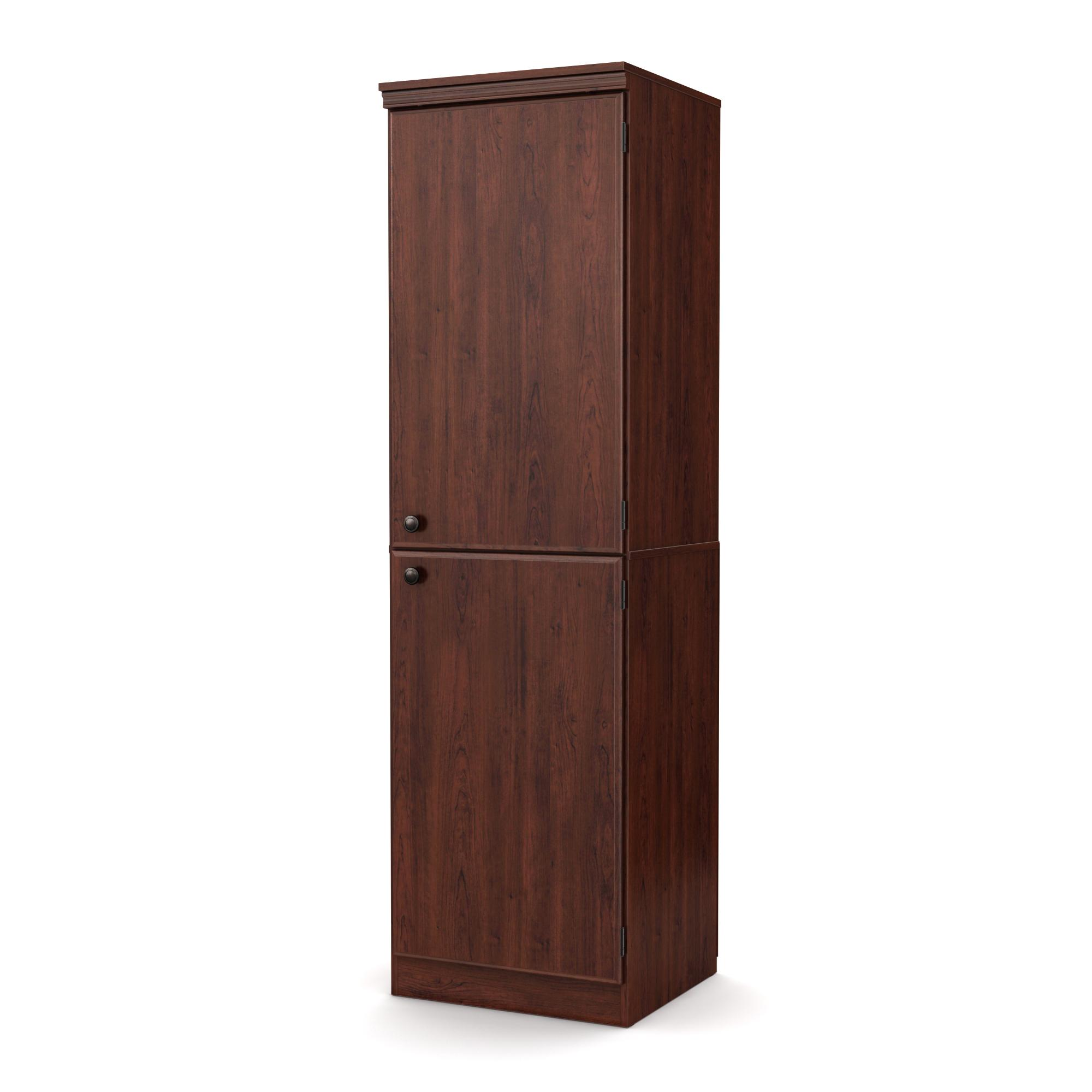 South Shore Morgan Collection Storage Cabinet, Royal Cherry ...