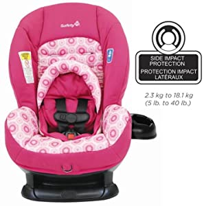 Safety 1st 22118CBDM Scenera LX Convertible Car Seat-Raspberry Ice ...