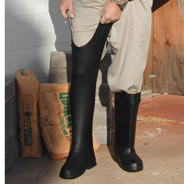 Treds 17852 Over The Shoe 17 Quot Rubber Slush Boots Large