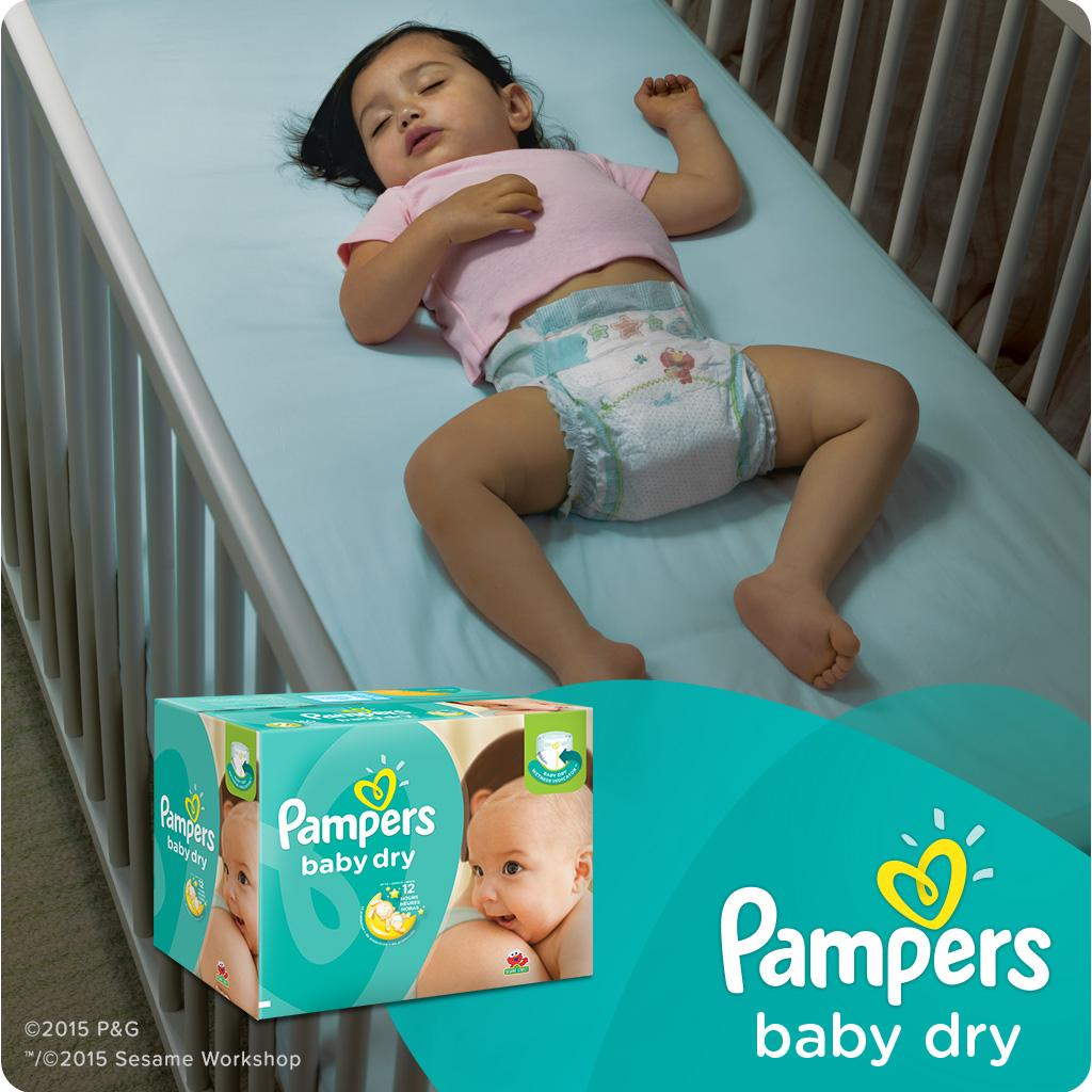 Pampers Pampers Baby Dry Size 1 Jumbo 44 Count Amazon Ca