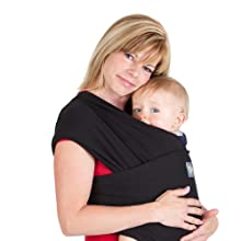 Boba Baby Wrap Black