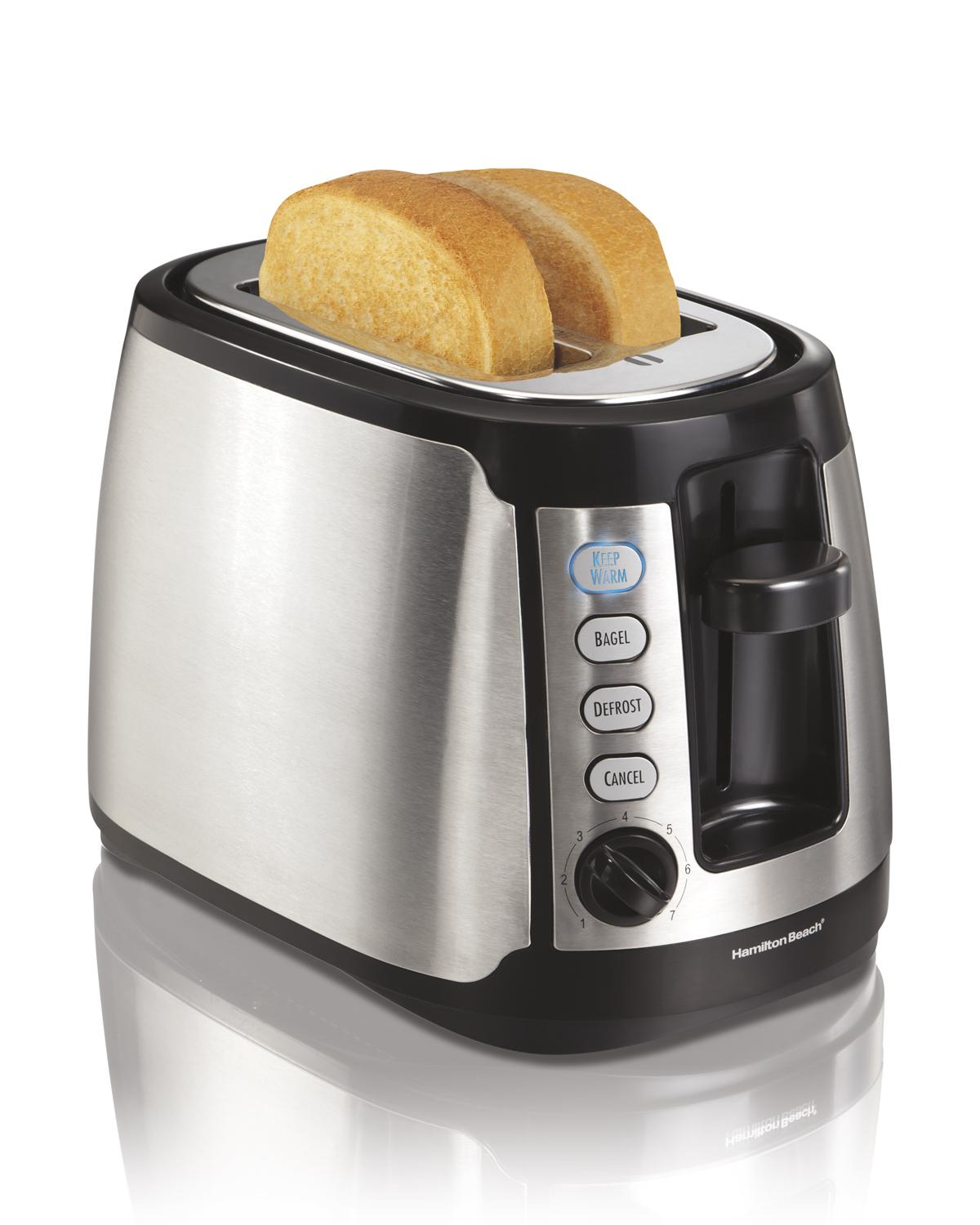 Hamilton Beach 22811c 2 Slice Toaster Stainless Steel