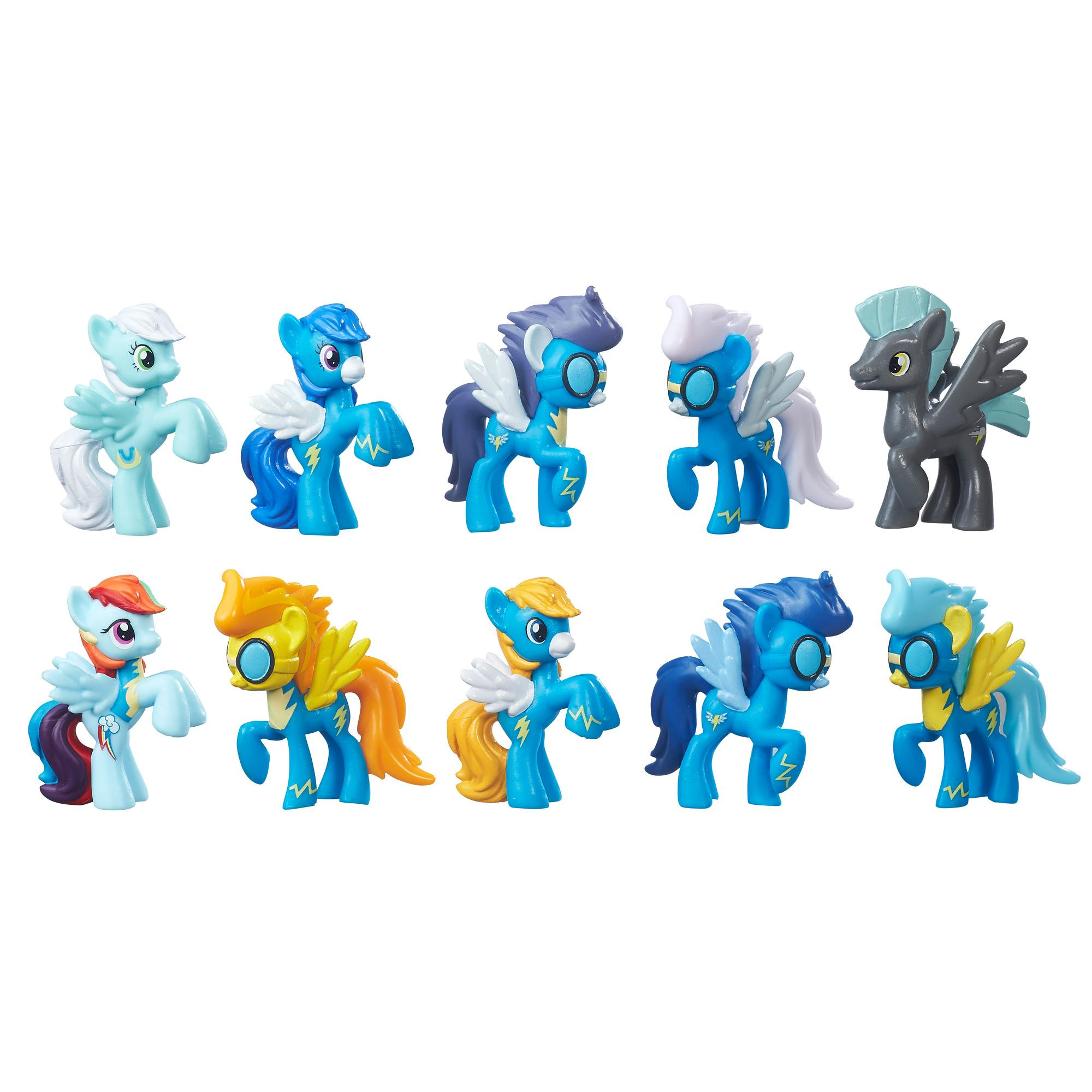 my little pony cloudsdale mini collection toy toys games amazon
