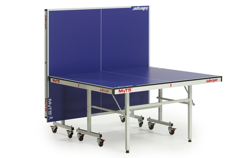 Killerspin Myt5 Premium Table Tennis Table Black Tables