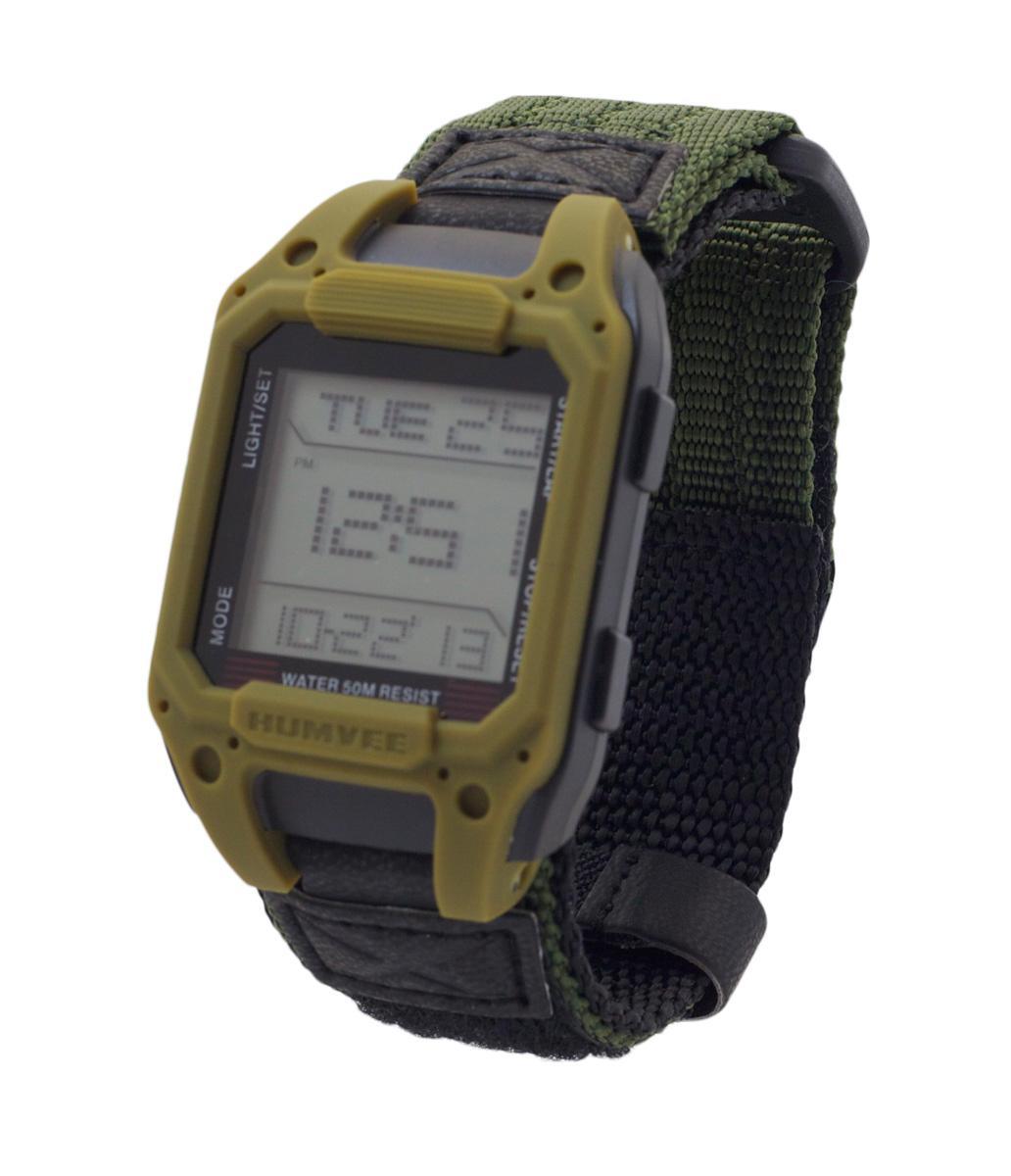 150 Meters Into Feet Humvee Hmv W Rcn Od Digital Recon Watch With Olive Nylon
