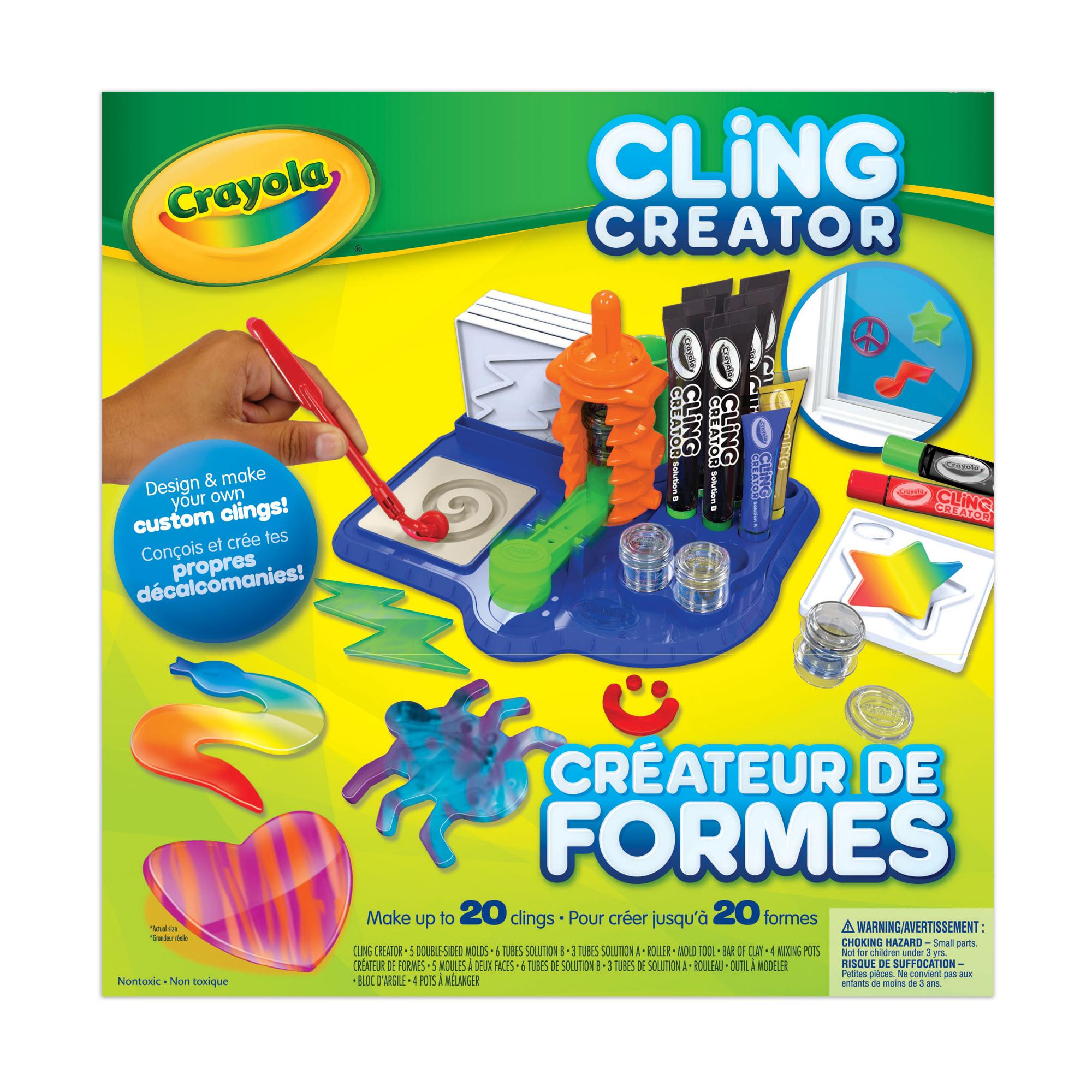 Crayola cling creator craft kit yo yos amazon canada for Amazon arts and crafts for kids