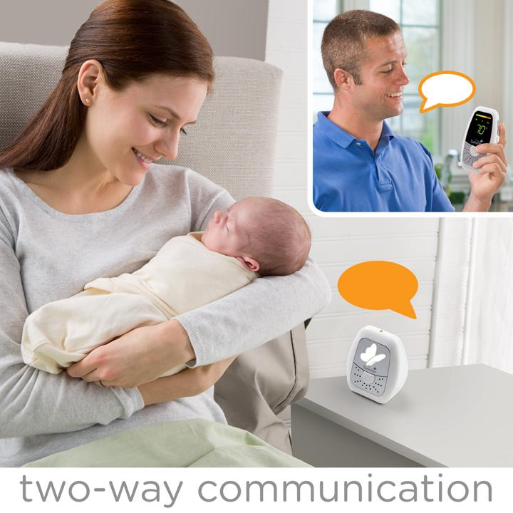summer infant baby wave deluxe duo digital audio monitor 2 parent units baby. Black Bedroom Furniture Sets. Home Design Ideas