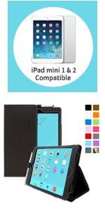 apple iPad mini smart case black, apple iPad mini smart case leather, ipad mini case