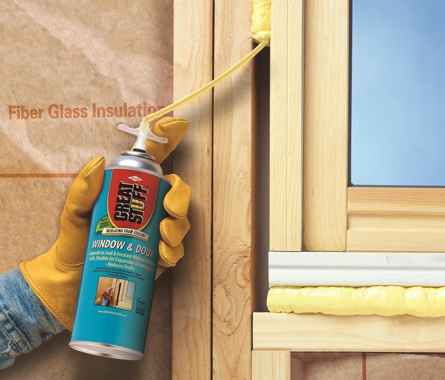 Great Stuff Window Amp Door 12 Oz Insulating Foam Sealant
