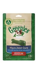 GREENIES Hip and Joint Care Dental Chews for Dogs