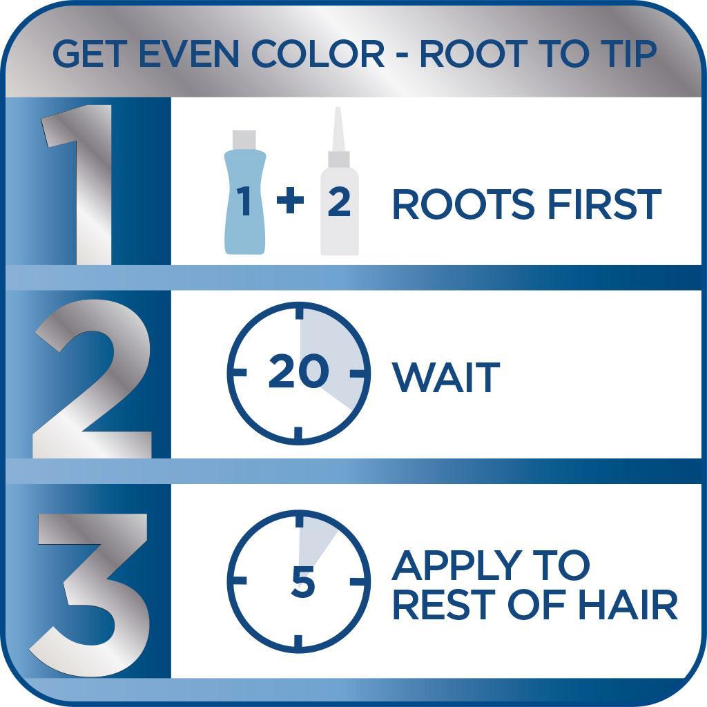 Clairol Nice N Easy Hair Color 110 Natural Light Auburn 1