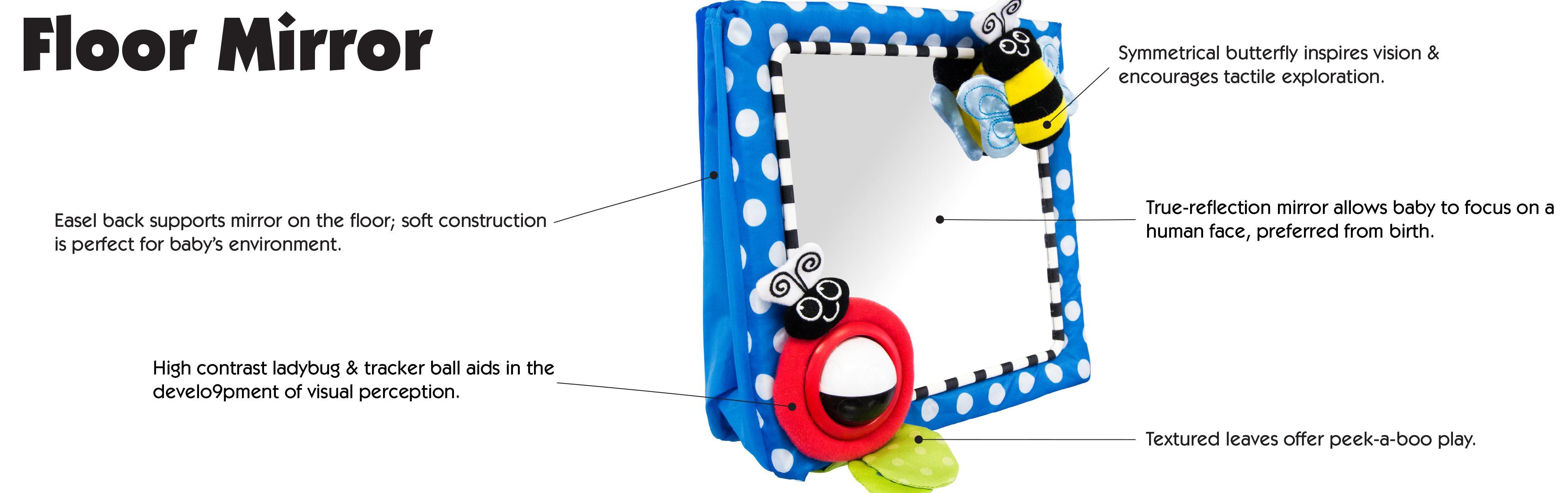 Sassy Floor Mirror, Blue: Sassy: Amazon.ca: Baby
