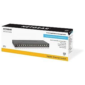 Netgear 16 Port Gigabit Ethernet Unmanaged Switch Desktop