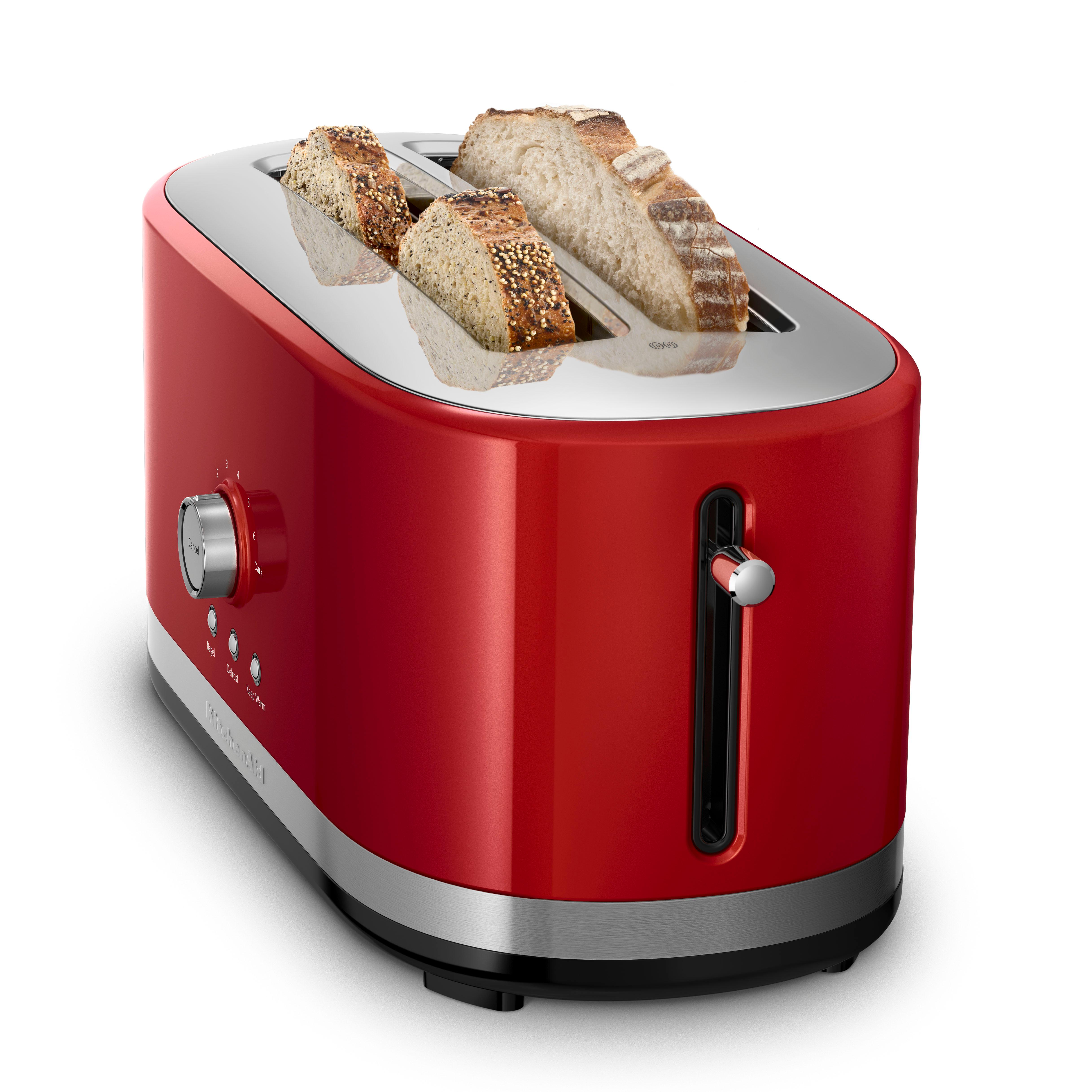 KitchenAid 4 Slice Long Slot Toaster with High Lift Lever Empire