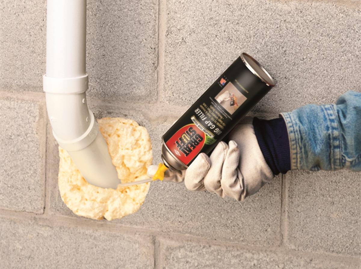 GREAT STUFF Big Gap Filler 12 Oz Insulating Foam Sealant Window Hardware A