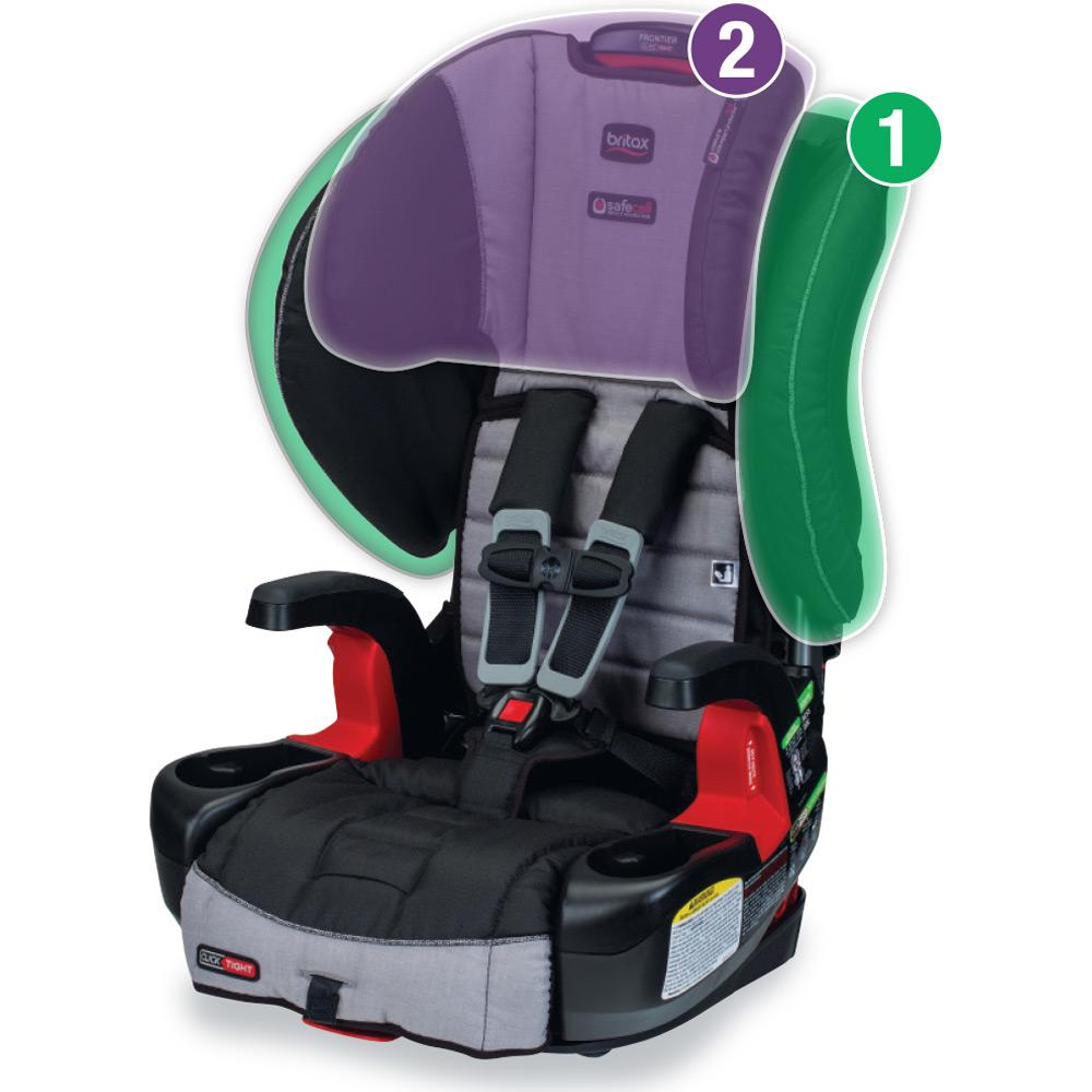 britax frontier clicktight combination harness 2 booster car seat vibe baby. Black Bedroom Furniture Sets. Home Design Ideas
