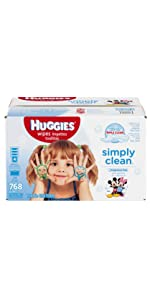In search for unscented baby wipes? Try Huggies Simply Clean Fragrance-Free Wipes