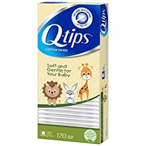 Q-tips Baby Cotton Swabs swab tip clean toddler care soft gentle