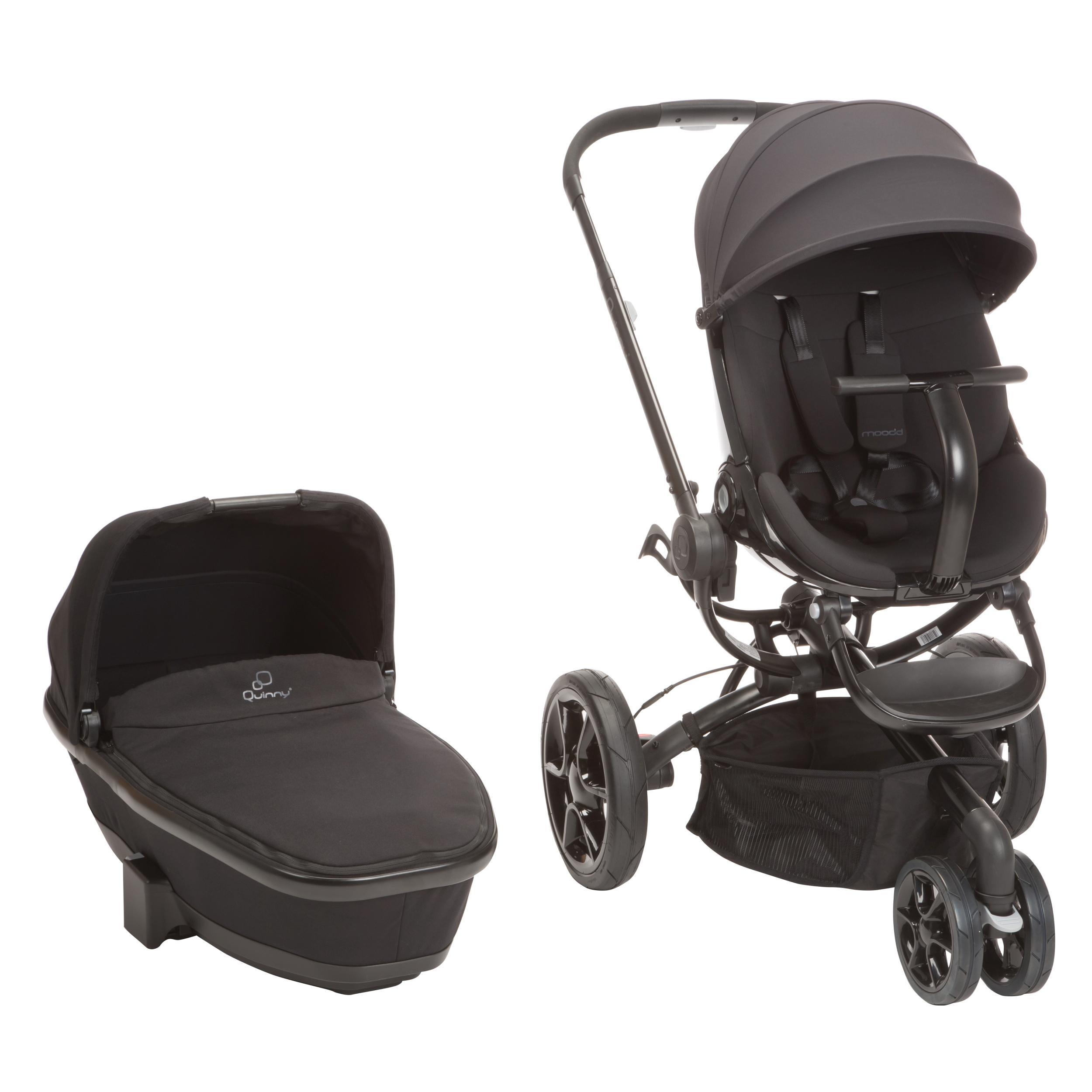 Quinny Moodd Stroller (Black Devotion): Amazon.ca: Baby