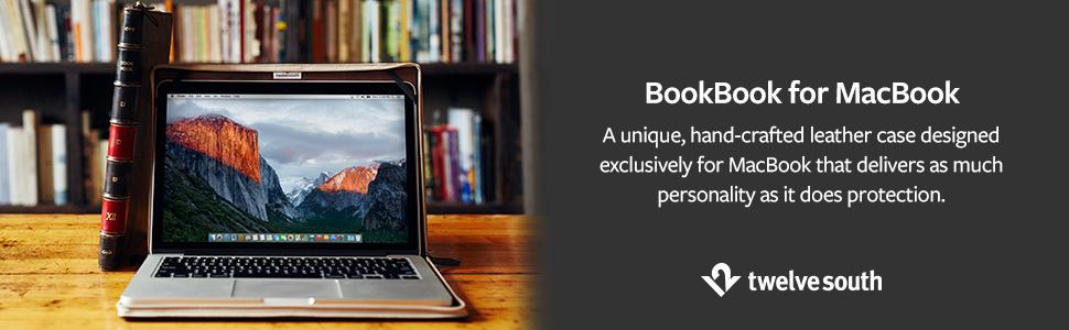 BookBook is a sophisticated case for your MacBook
