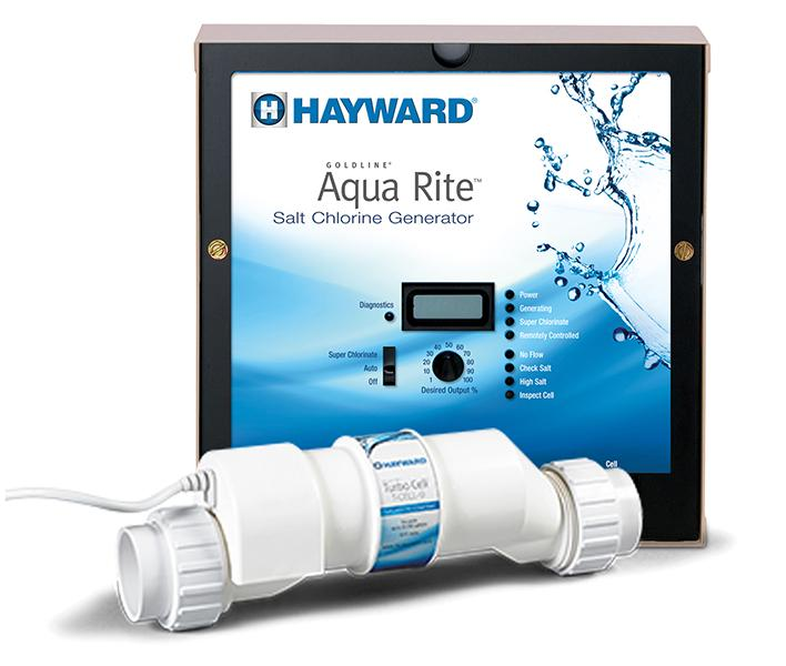 Hayward Aqr15 Goldline Aquarite Electronic Salt Pool Chlorinator Control Box Complete With 40000