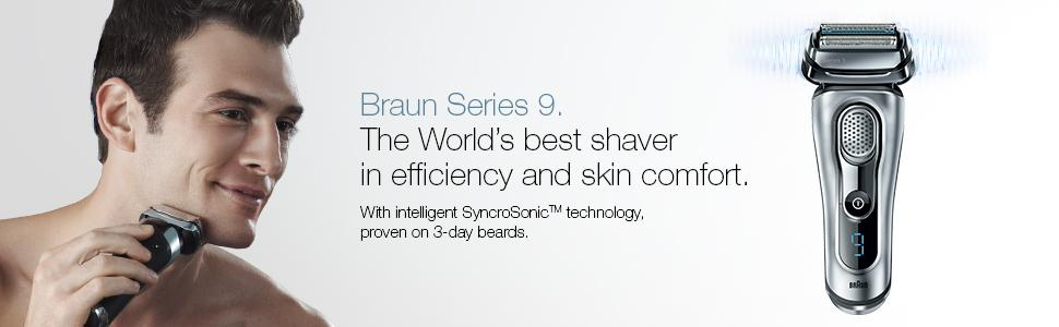 Braun Series 9. The World's best shaver in efficiency and skin comfort