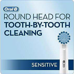 oral b, oral b toothbrush, electric toothbrush, soft toothbrush, sensitive teeth, brush refill