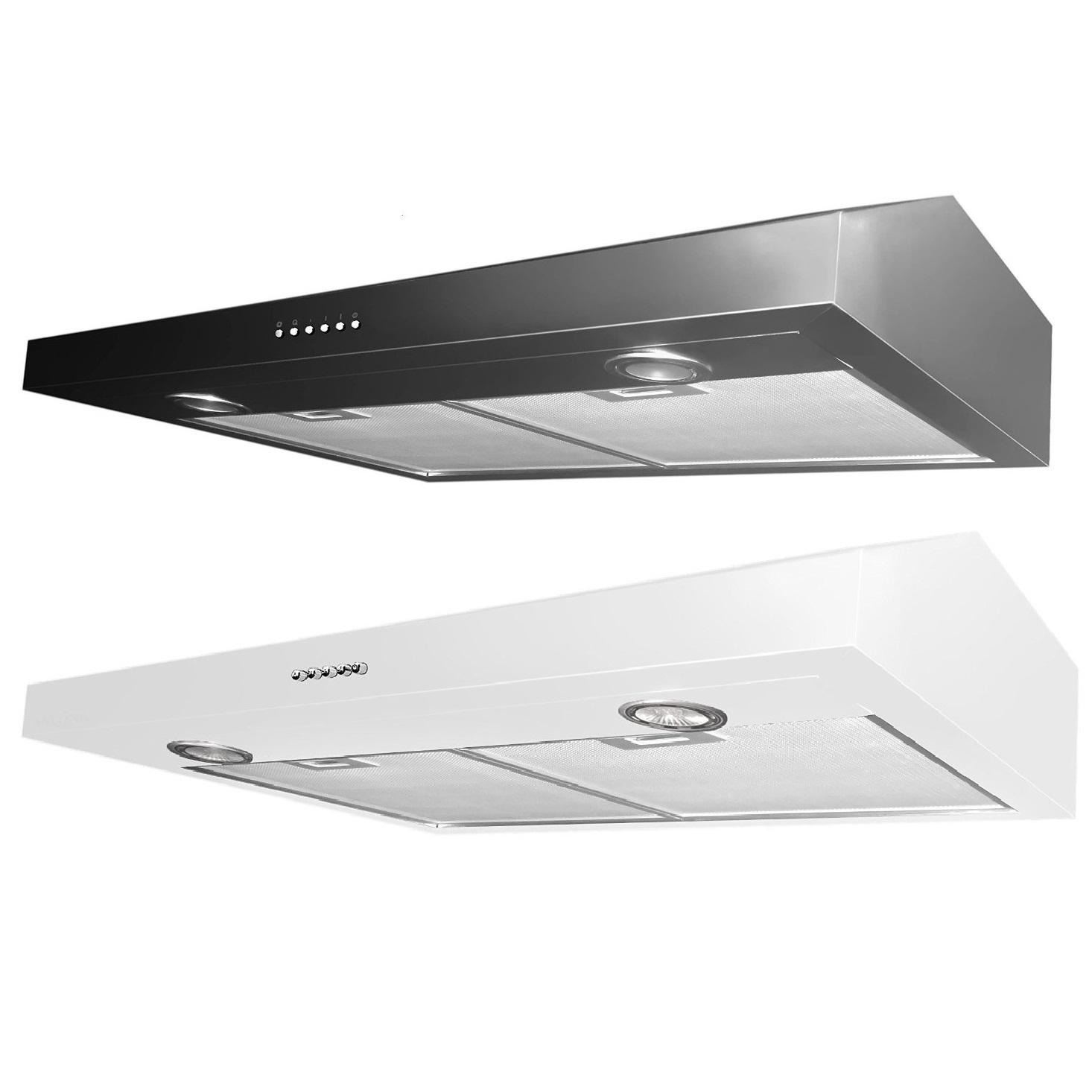Kitchen Cabinet Renewal Ancona Stainless Steel Slim 5 Inch High 300 Cfm 4 Speeds